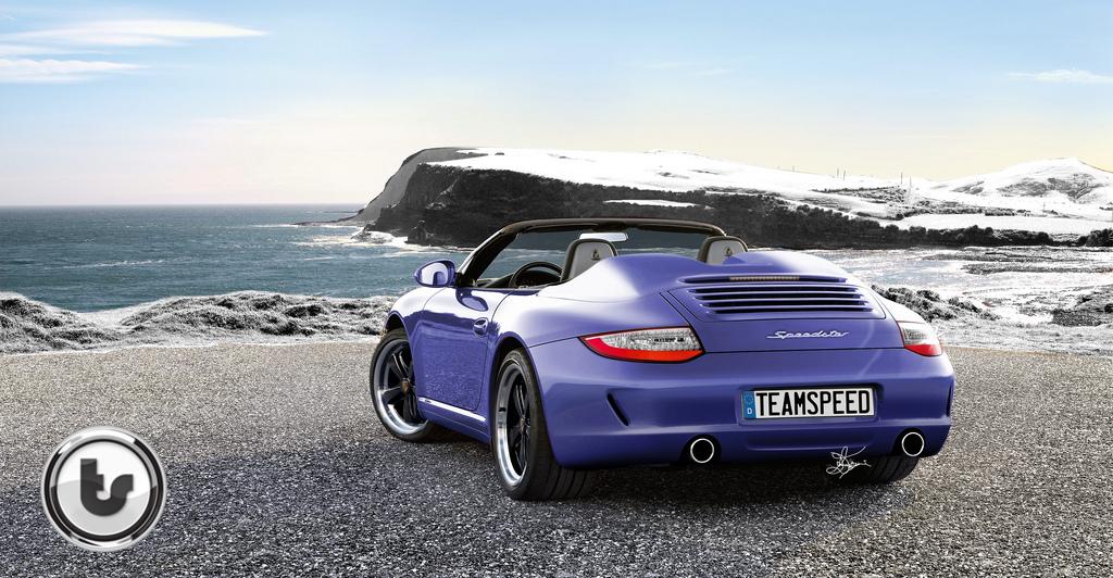 Porsche 911 Speedster render