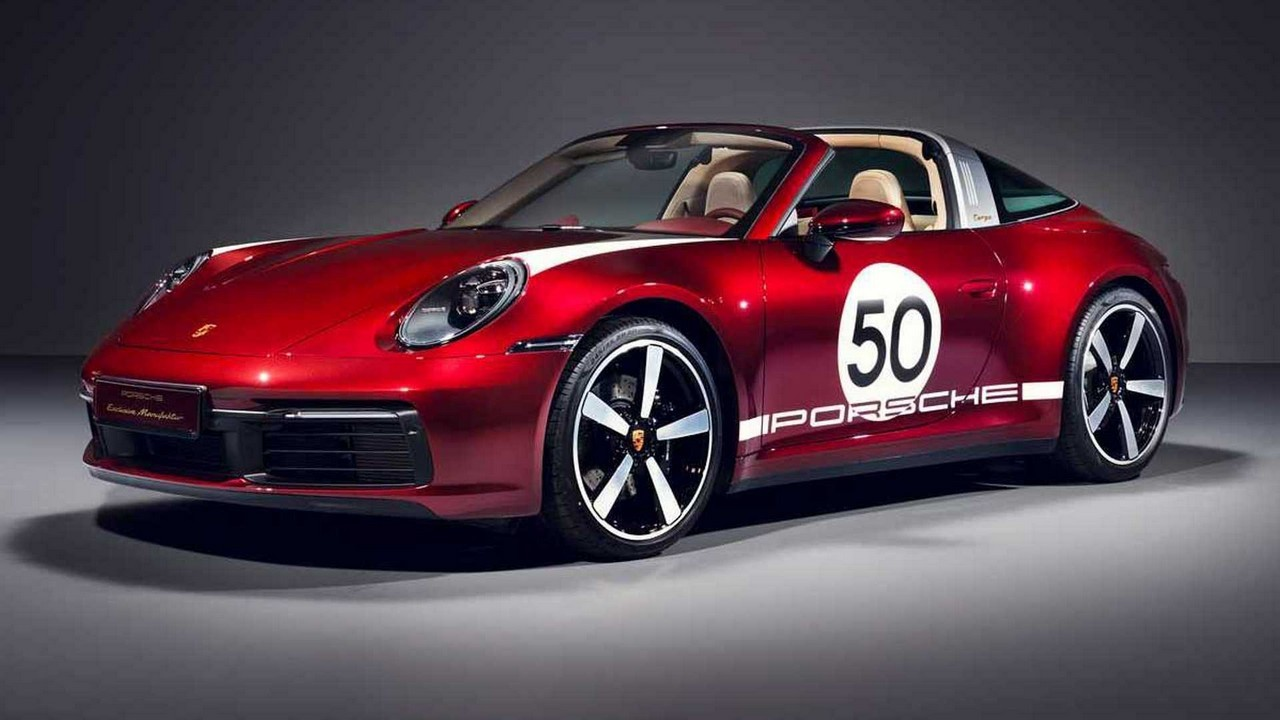 Porsche 911 Targa 4S 2020 Heritage Design Edition