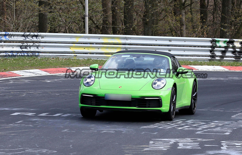 Porsche 911 Targa MY 2020 - Foto spia 23-04-2019
