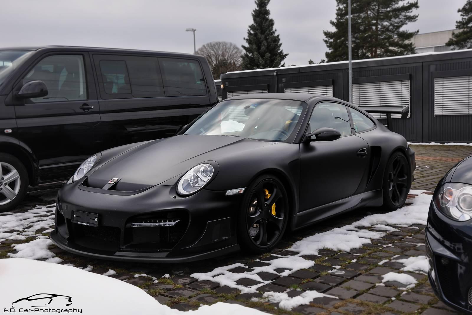 porsche 911 techart gtstreetr foto 5 di 6 - Porsche 911 2014 Black