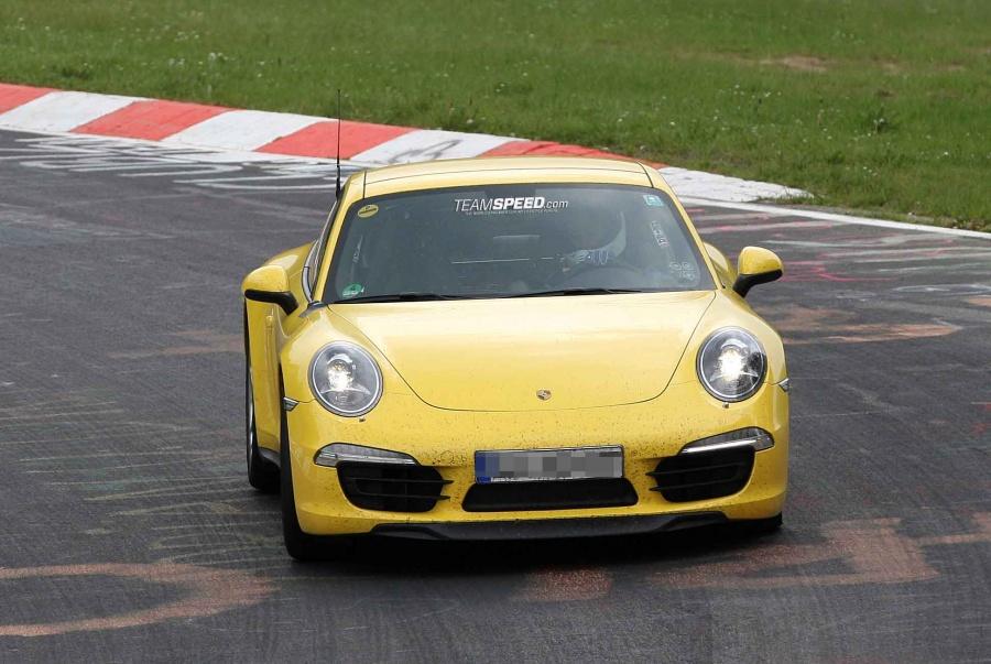 Porsche 991 Carrera 4s Foto Spia Foto 7 Di 7