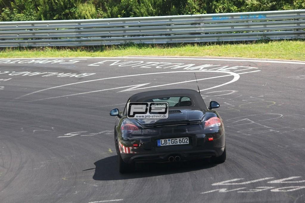 Porsche Boxster 2012 foto spia luglio 2011