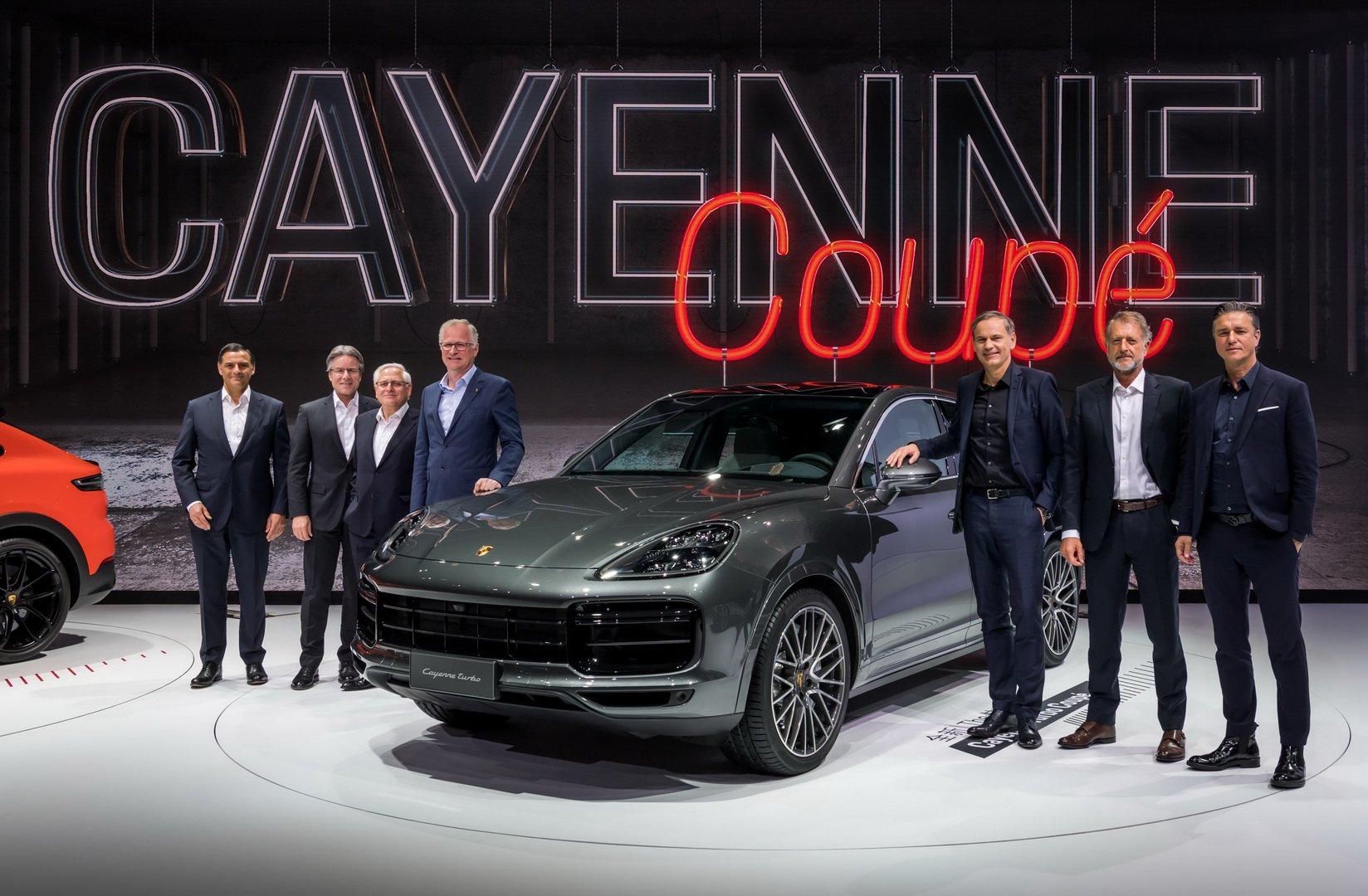 Porsche Cayenne Coupè 2019 - Salone di Shanghai