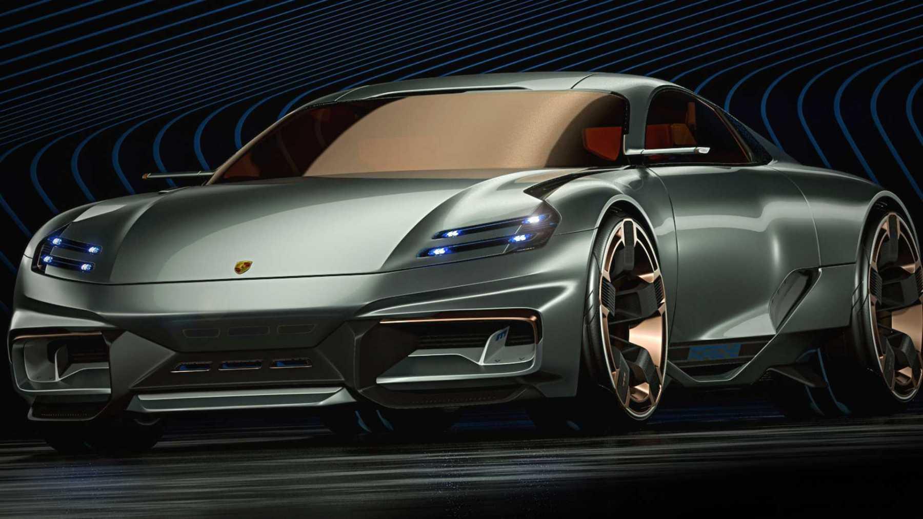 Porsche Cyber 677 - Render