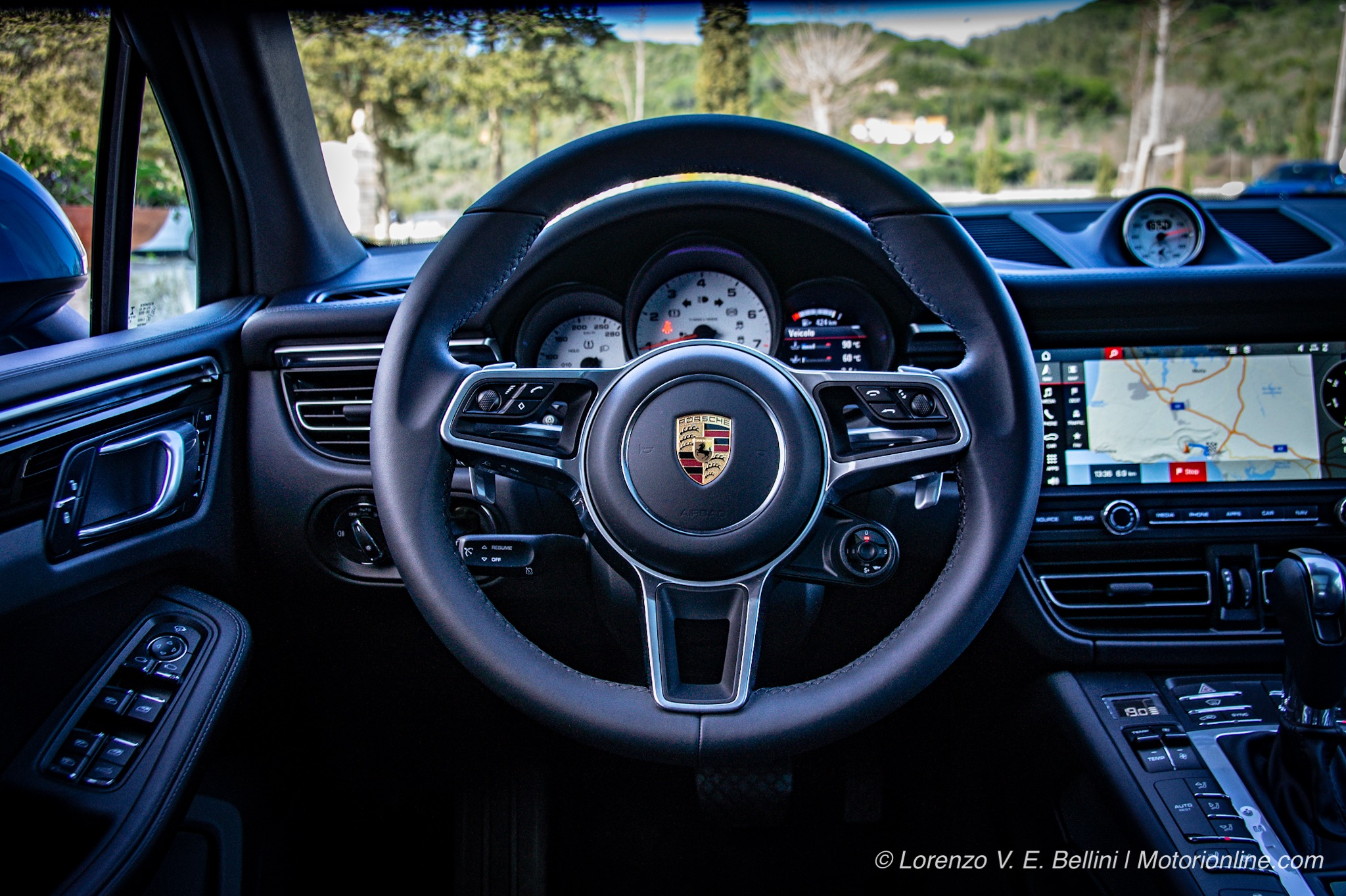 Porsche Macan MY 2019 - Test Drive in Anteprima