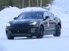 Porsche Mission E foto spia 11 gennaio 2017