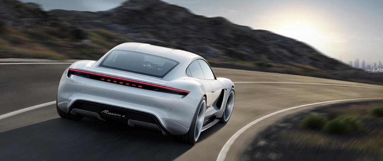 Porsche Mission E - nuova galleria fotografia