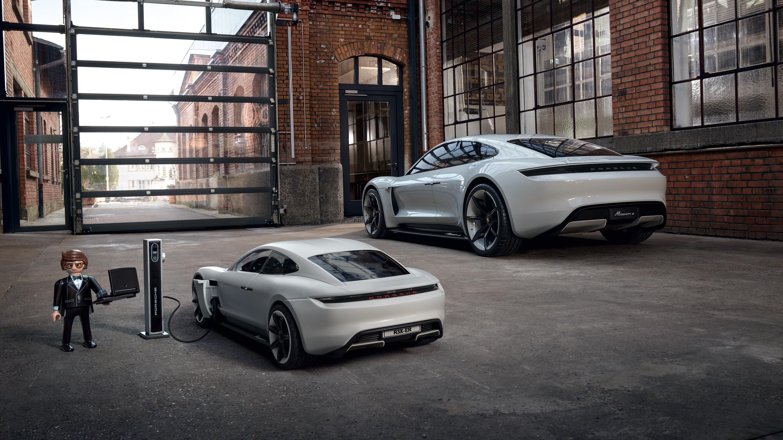 Porsche Mission E - Playmobil