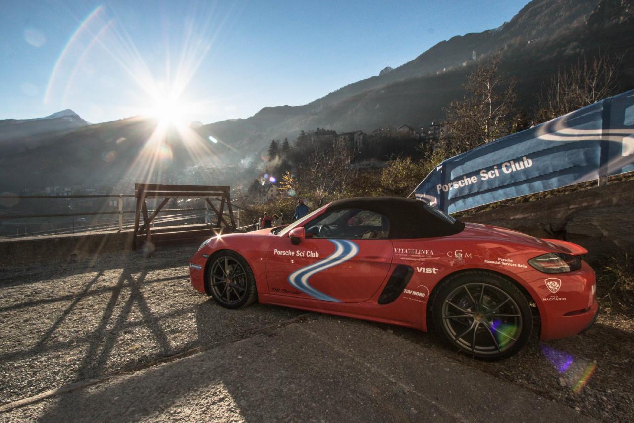 Porsche Sci Club Italia 2016 - 2017 Valmalenco