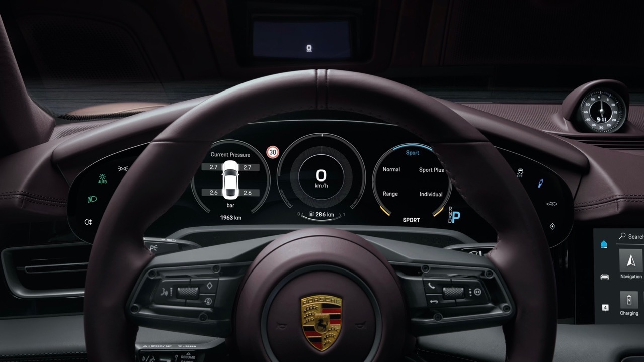 Porsche Taycan 2021 - Foto ufficiali