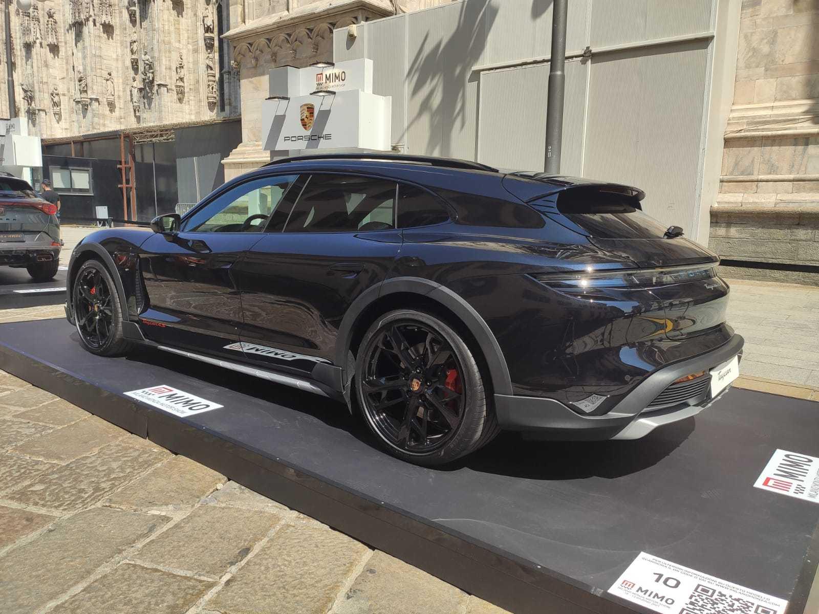 Porsche taycan 4S Sport Turismo - MiMo 2021