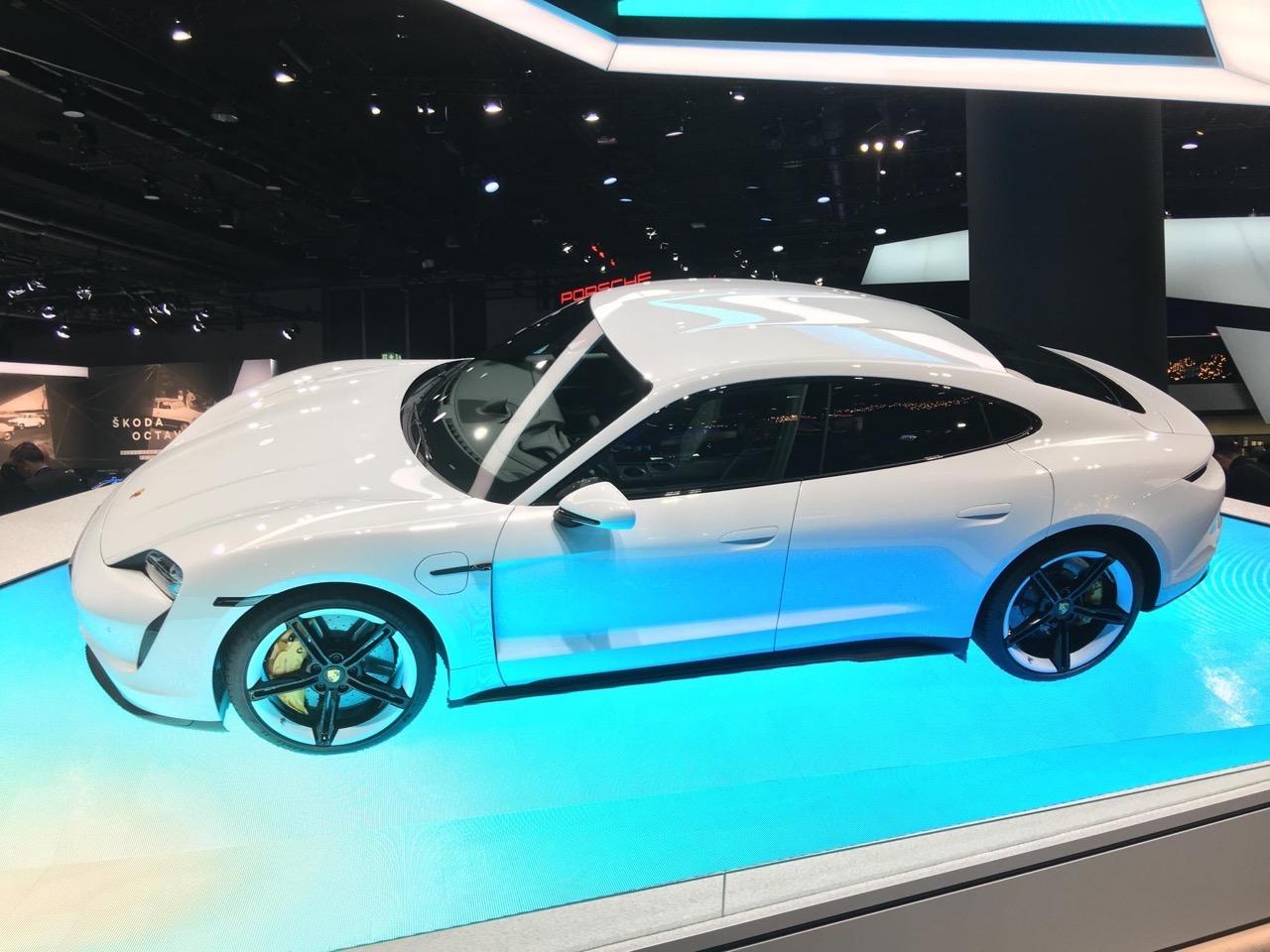 Porsche Taycan - Salone di Francoforte 2019