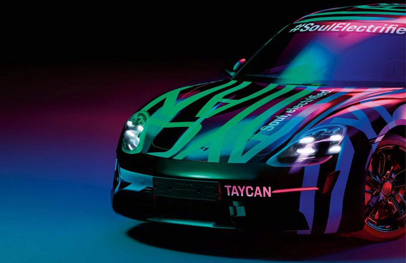 Porsche Taycan - Teaser