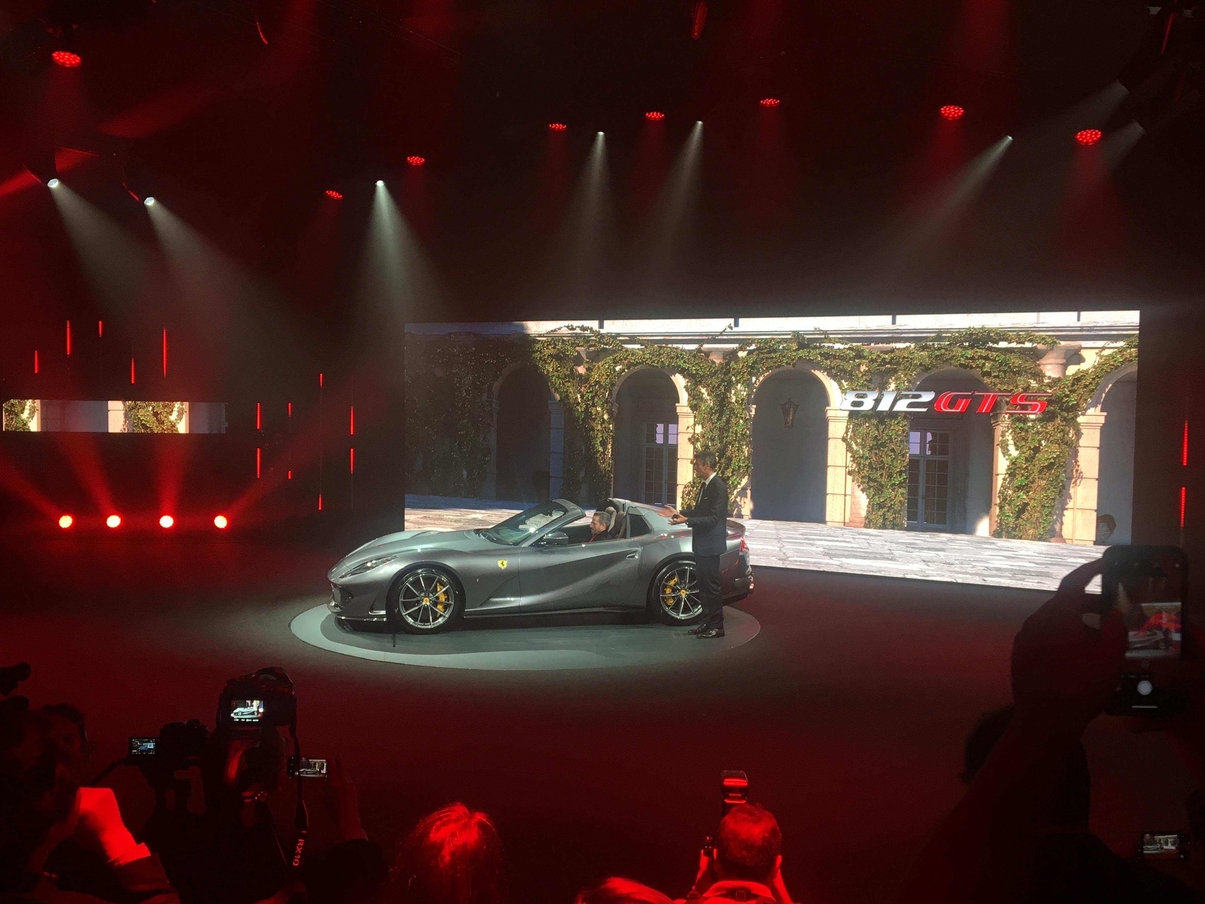 Presentazione Ferrari 812 GTS - Universo Ferrari