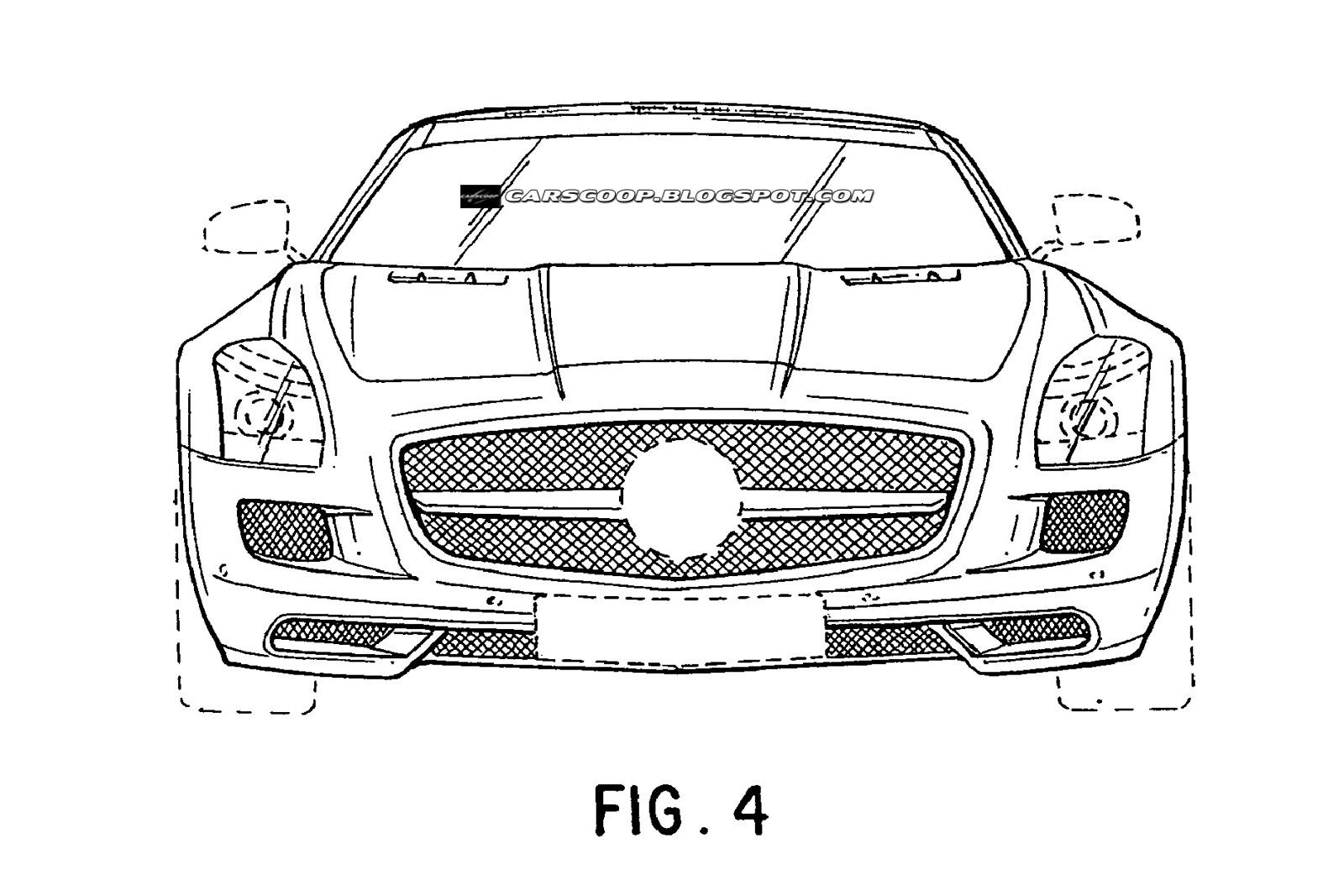 Progetti della Mercedes SLS AMG spider