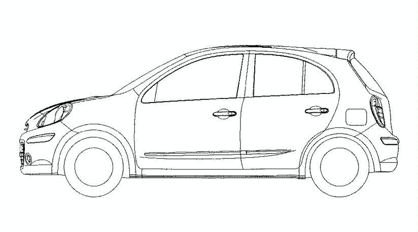 Progetti Nissan Micra 2010