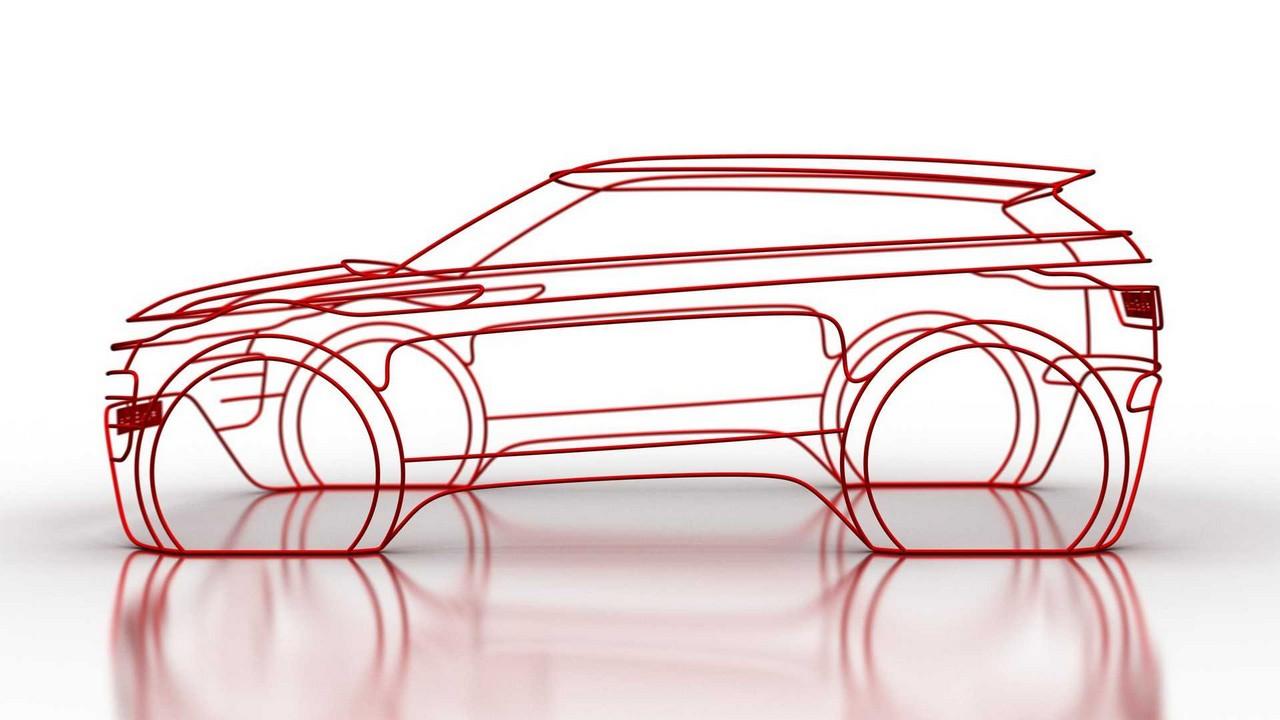 Range Rover Evoque MY 2019 teaser