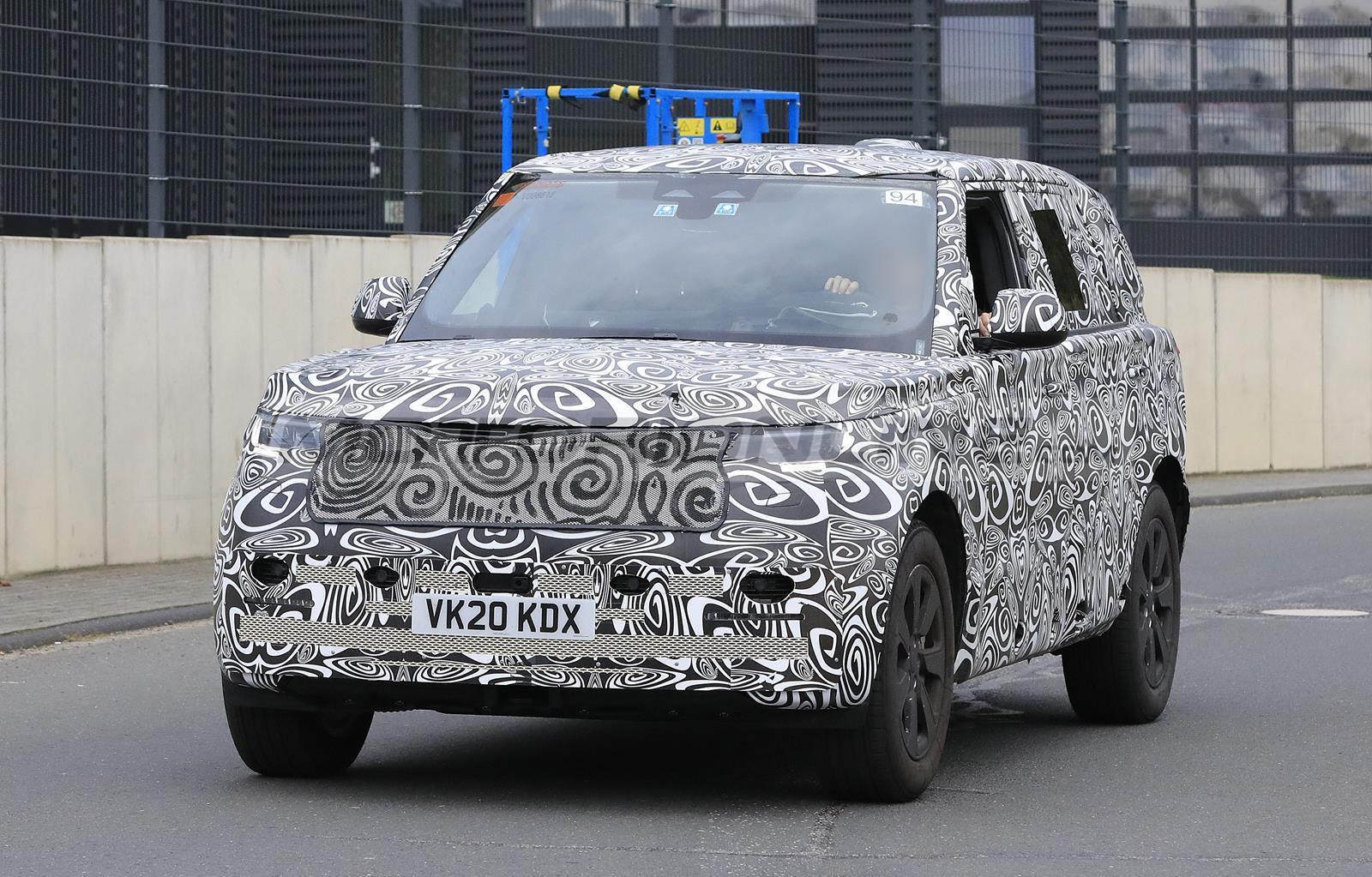 Range Rover LWB 2021 - Foto spia 27-10-2020