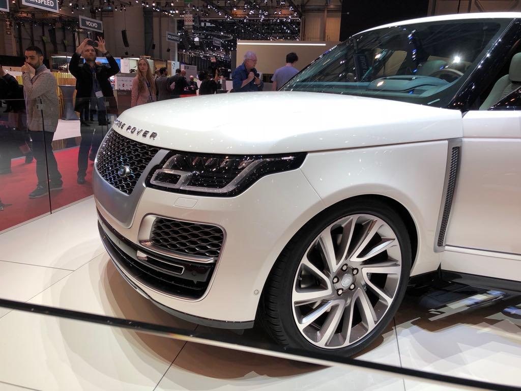 Range Rover SV Coupe - Salone di Ginevra 2018