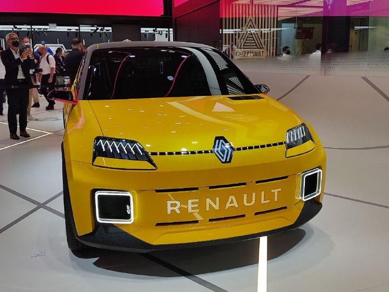 Renault 5 Prototype - Salone di Monaco 2021