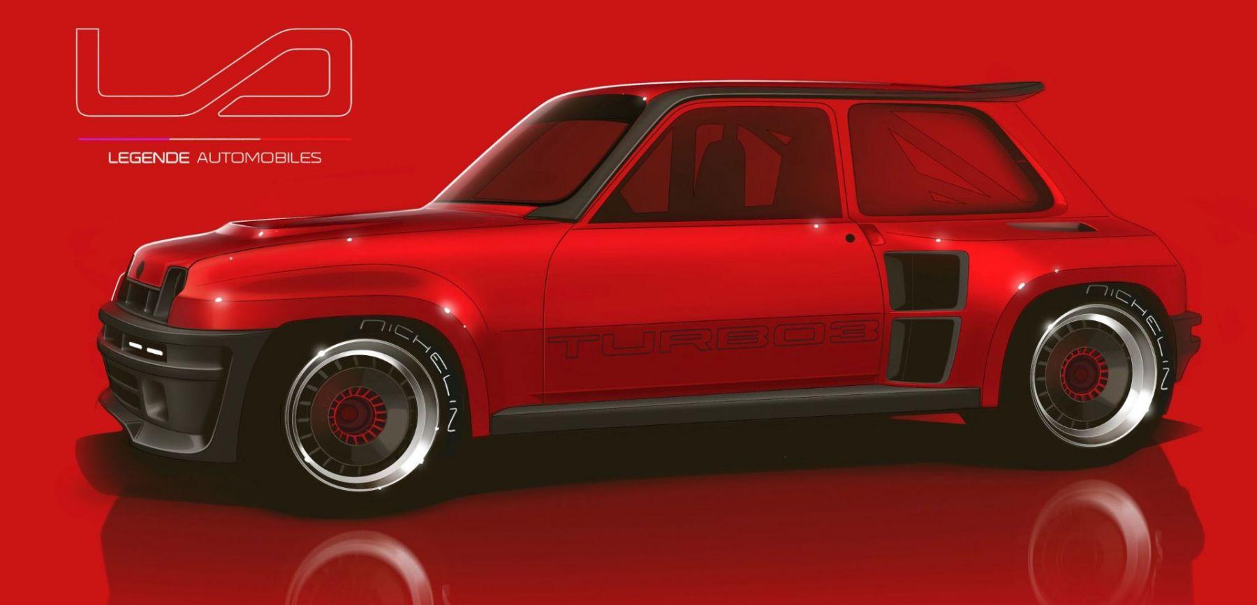 Renault 5 Turbo 3 - Legende Automobiles