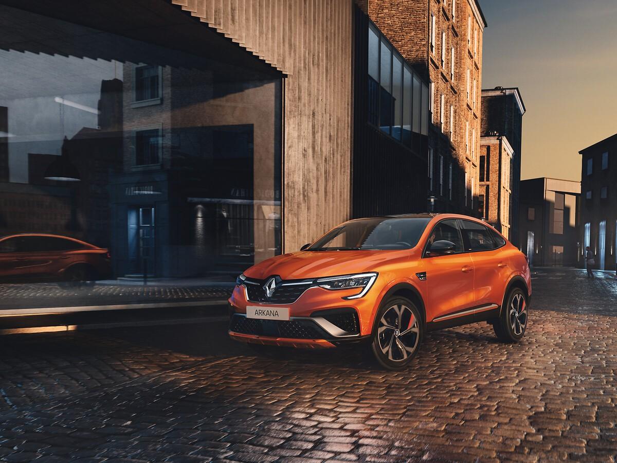 Renault Arkana - Foto ufficiali