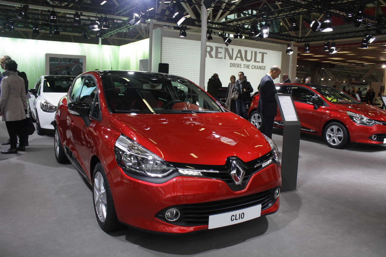 Renault Clio Break - Motor Show di Bologna 2012