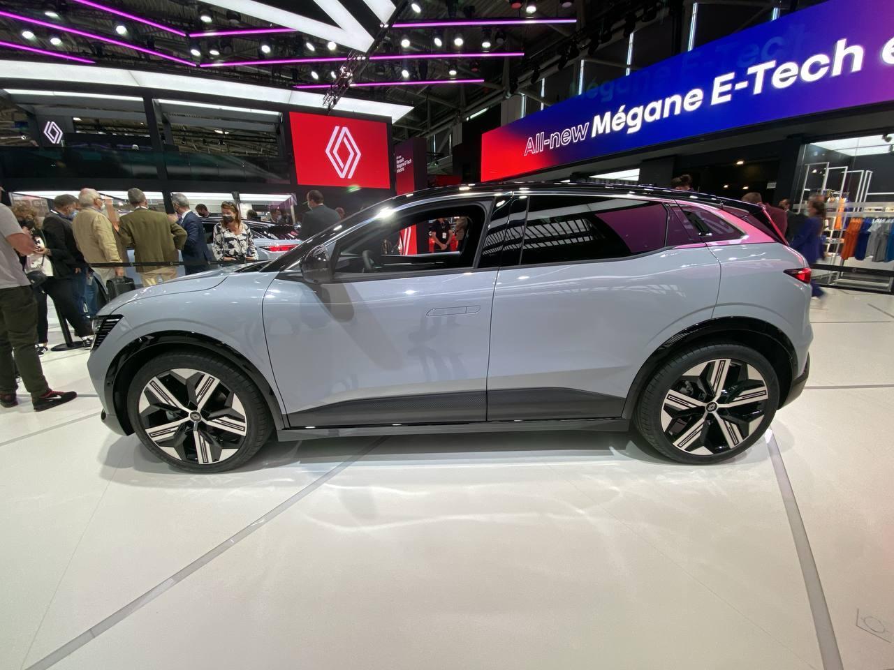 Renault Megane E-Tech Electric - Salone di Monaco 2021