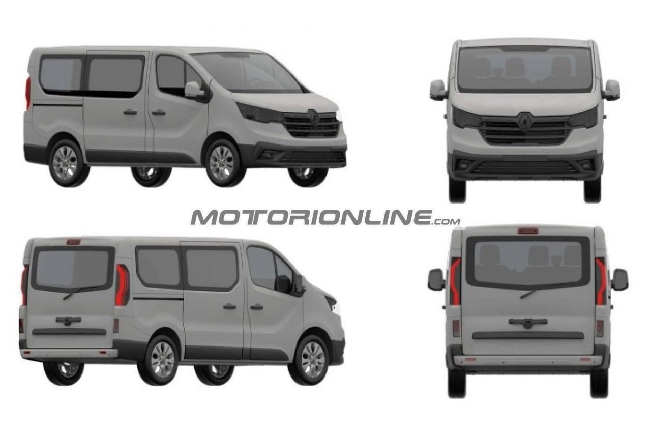 Renault Trafic - Foto spia 15-4-2020