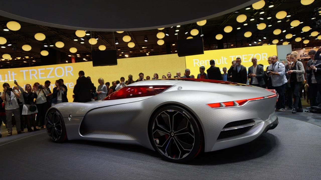 Renault trezor concept salone di parigi 2016 14 22 for Salone mobile parigi