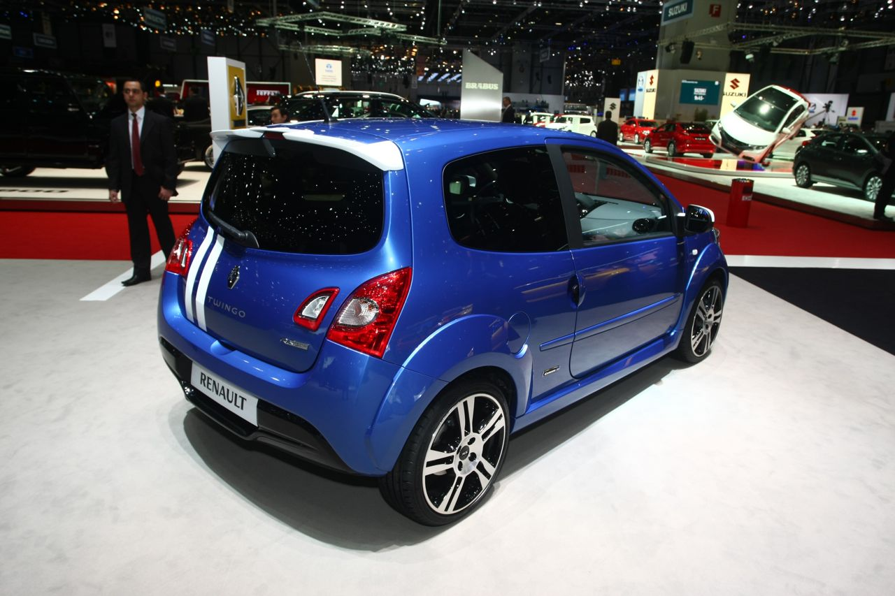 renault twingo rs gordini salone di ginevra 2012 6 7. Black Bedroom Furniture Sets. Home Design Ideas