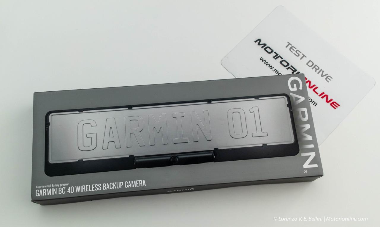 Retrocamera Garmin BC 40 - Recensione