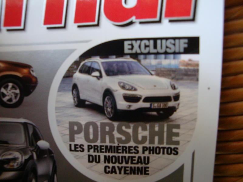 Rivista con la Porsche Cayenne 2011