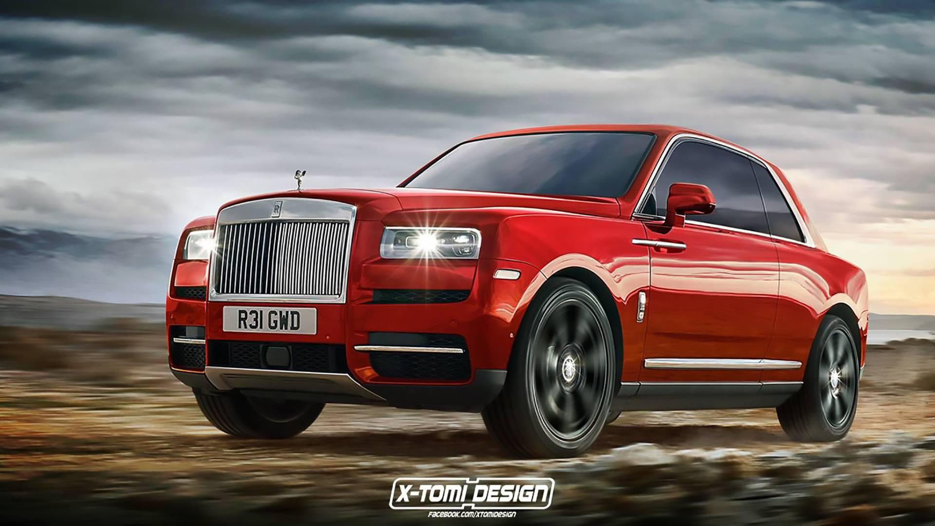 Rolls-Royce Cullinan - Rendering