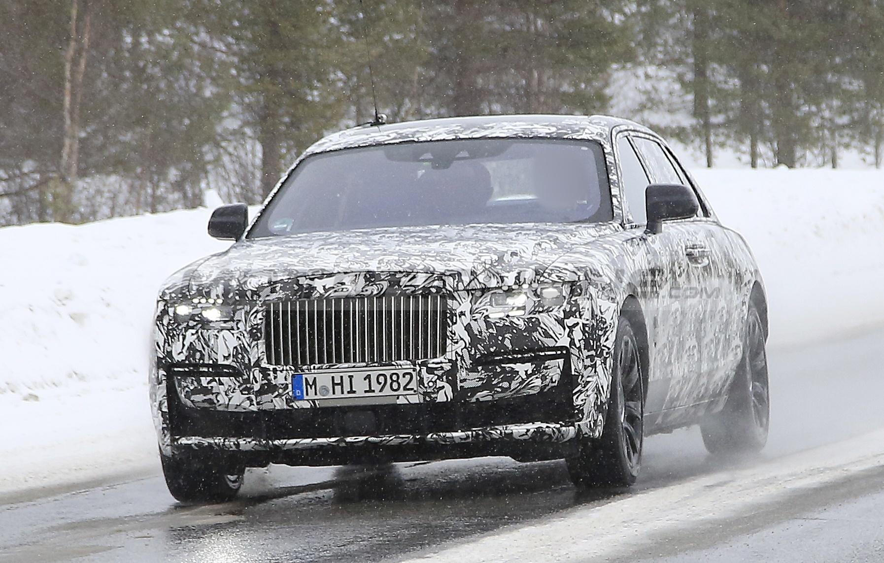 Rolls-Royce Ghost e Ghost EWB 2021 - Foto spia 01-04-2020