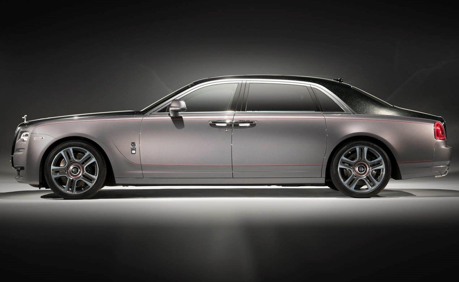 Rolls-Royce Ghost Elegance diamantata
