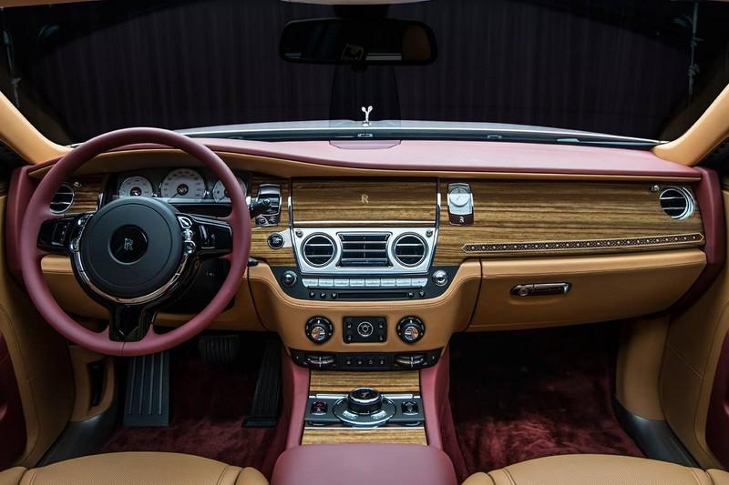Rolls-Royce Ghost Red Diamond