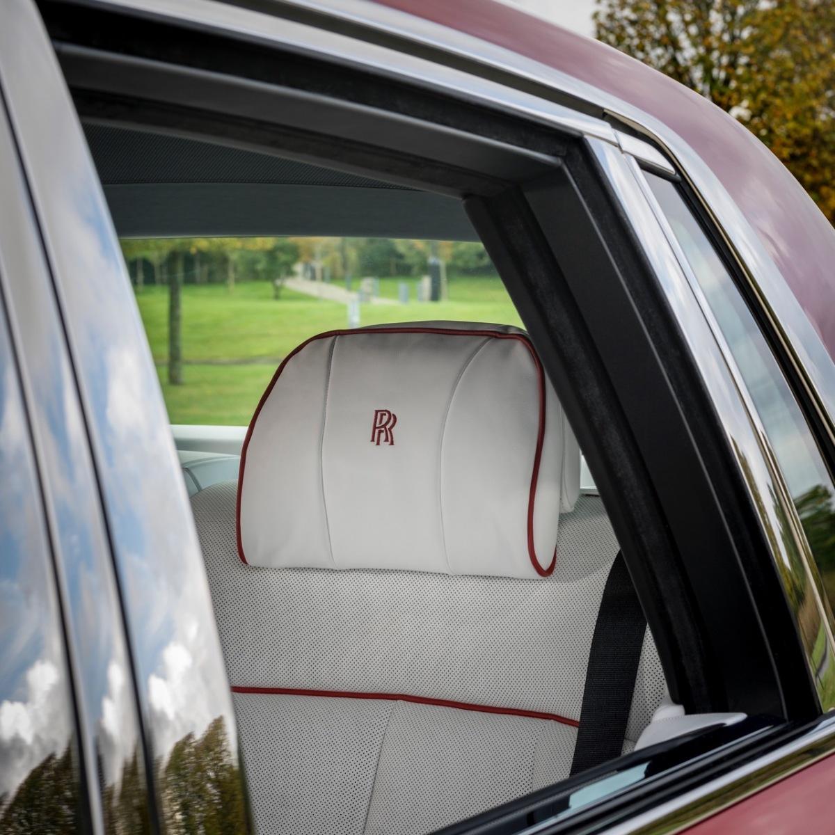 Rolls-Royce Phantom Bespoke Red