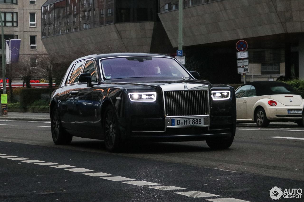 Rolls-Royce Phantom MY 2018 a Berlino