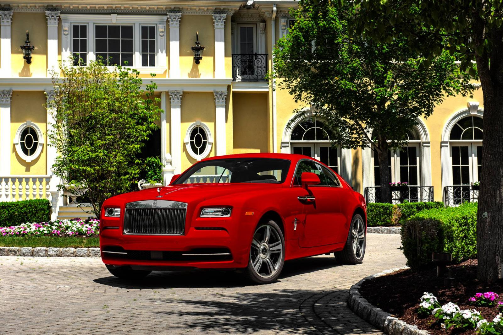 Rolls Royce Wraith St James Edition