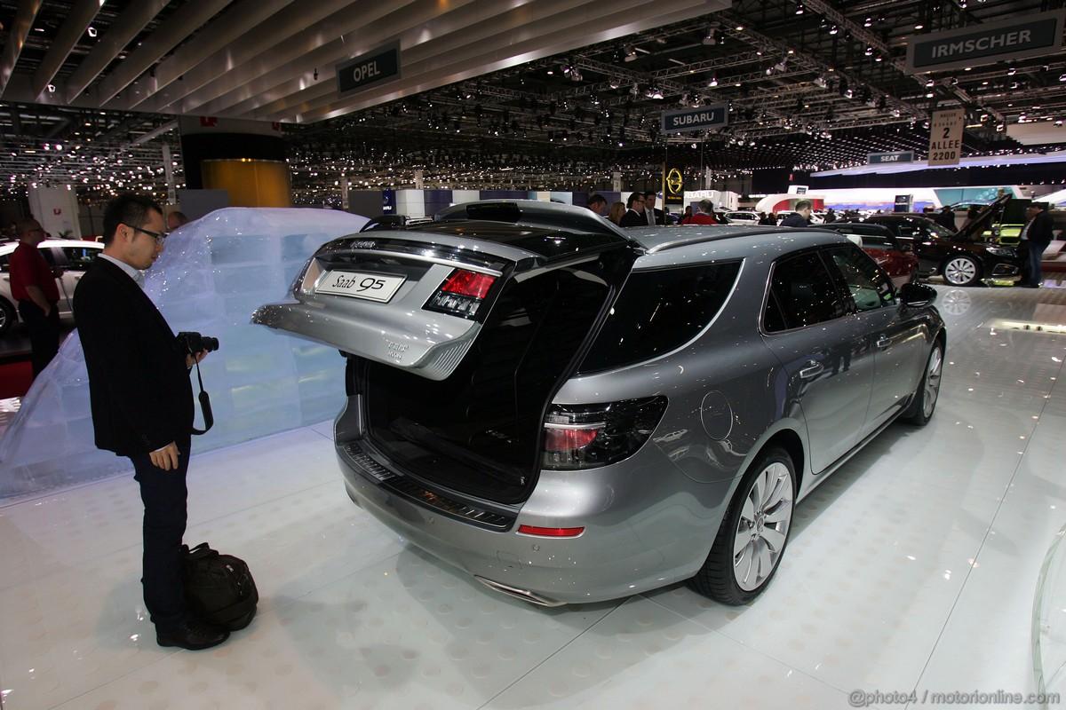 Saab 95 Sport Combi Ginevra 2011