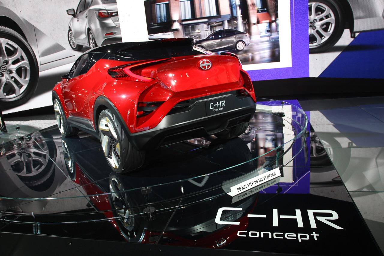 Scion C-HR - Salone di Detroit 2016