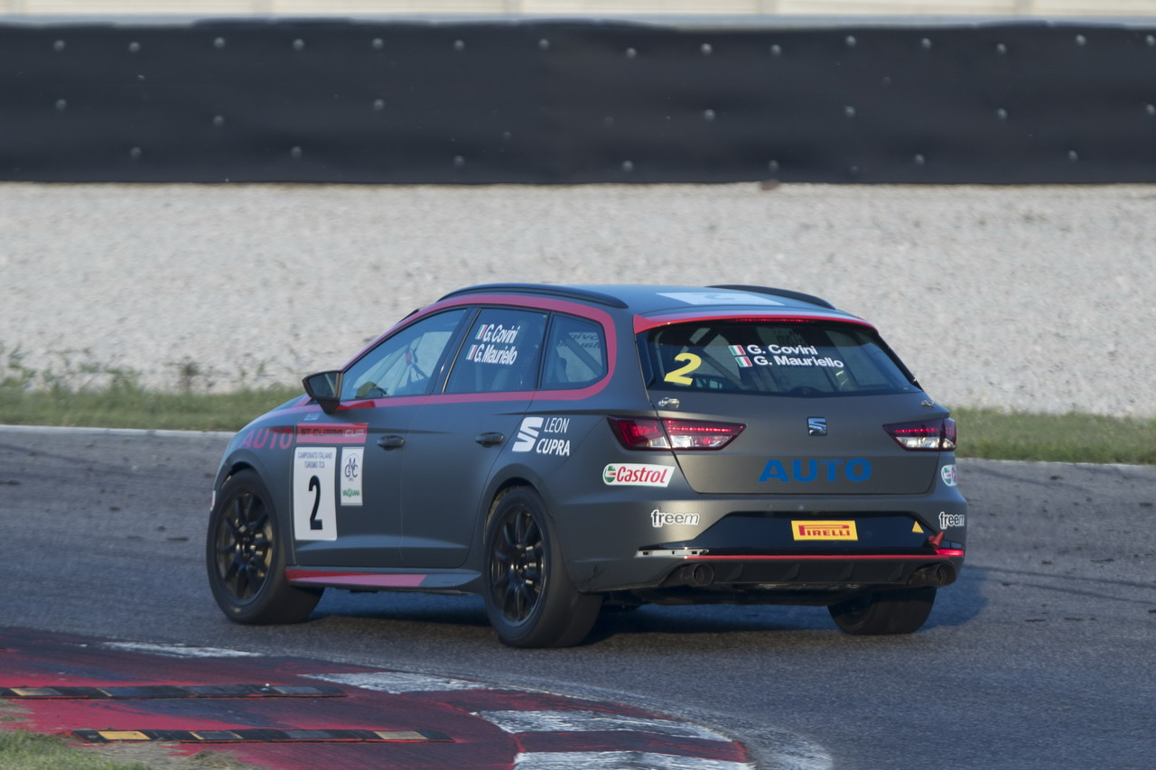 Seat ST Cupra CUP: Motorionline in gara ad Adria