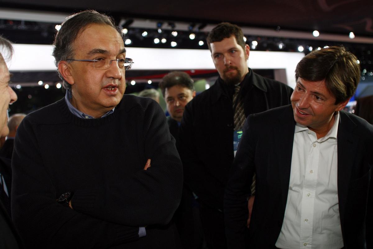 Sergio Marchionne - CEO FIAT / Chrysler al Salone di Detroit 2011