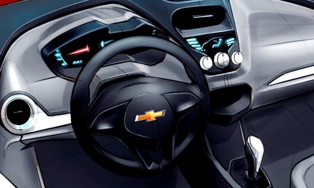 Sketch Chevrolet Agile