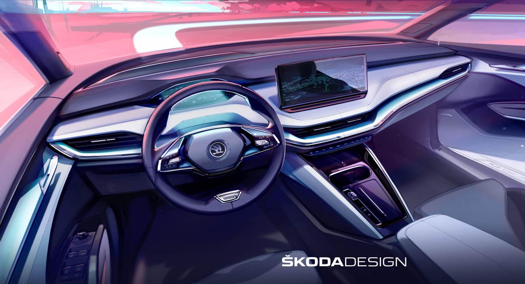 Skoda Enyaq iV - Teaser