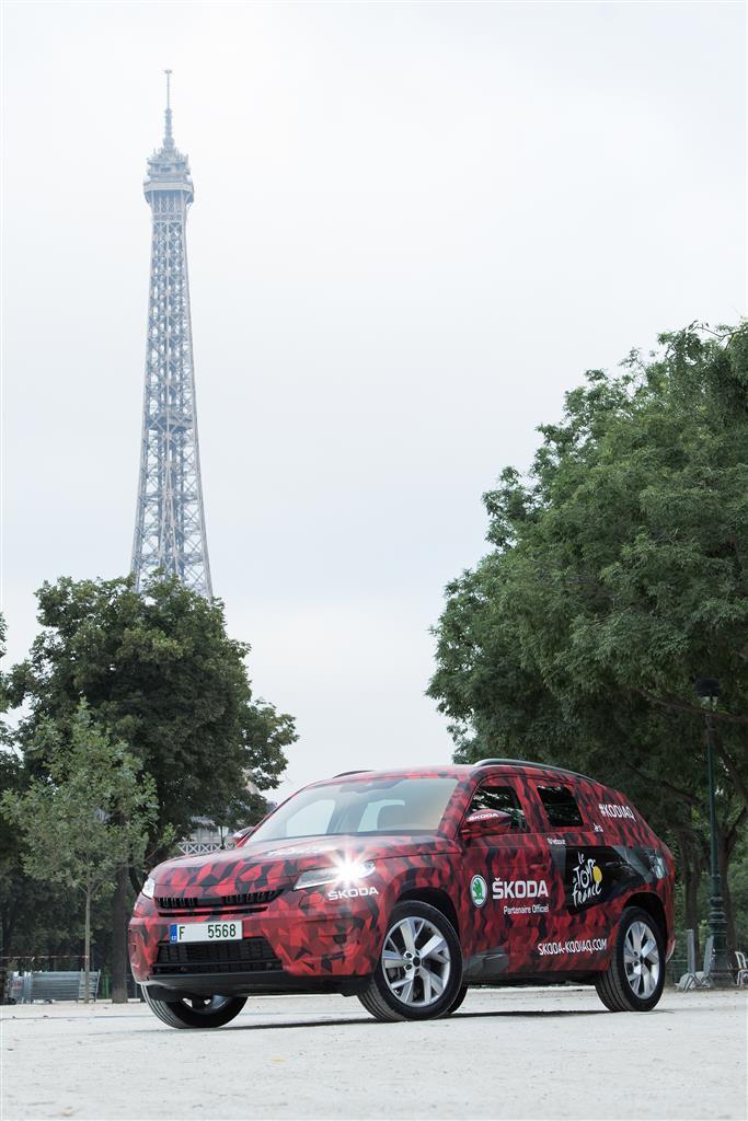 Skoda Kodiaq al Tour de France 2016
