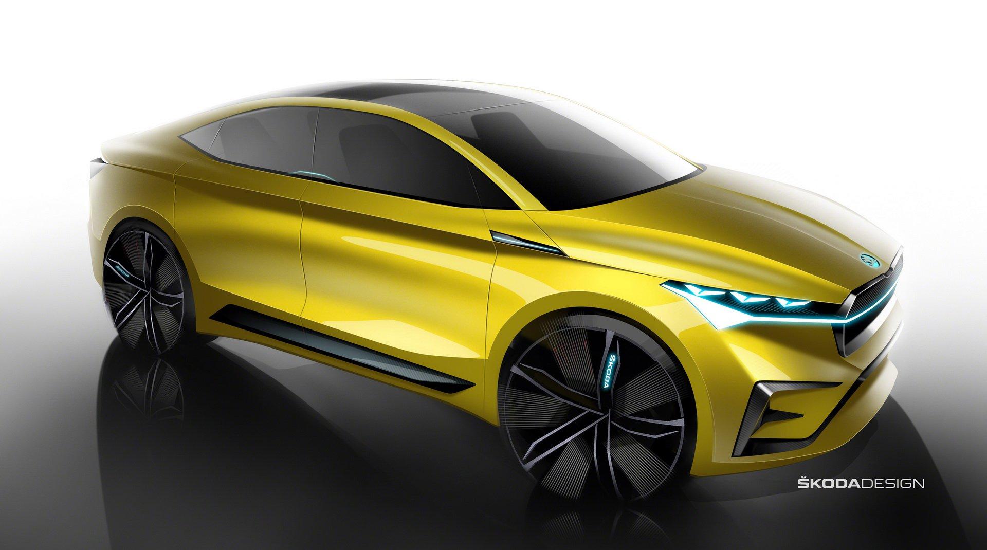 Skoda Vision IV Concept - Salone di Ginevra 2019