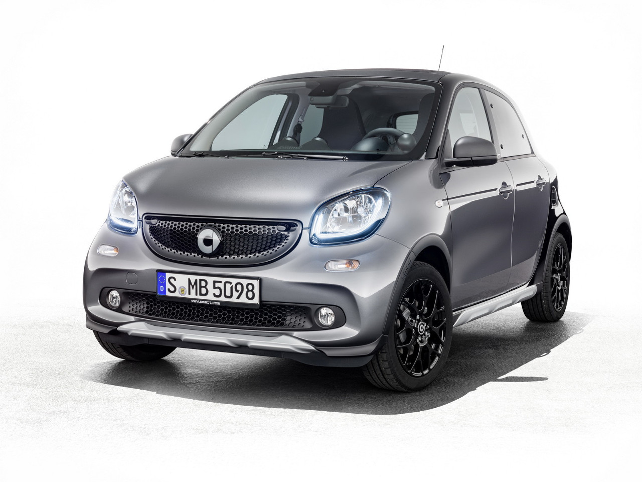 Smart Cabrio Brabus Edition #2 & ForFour Crosstown - Ginevra 2017
