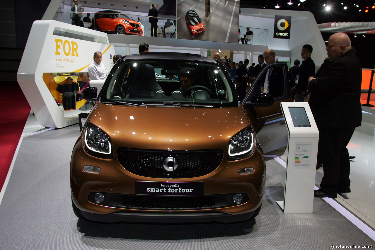 Smart ForFour - Salone di Parigi 2014